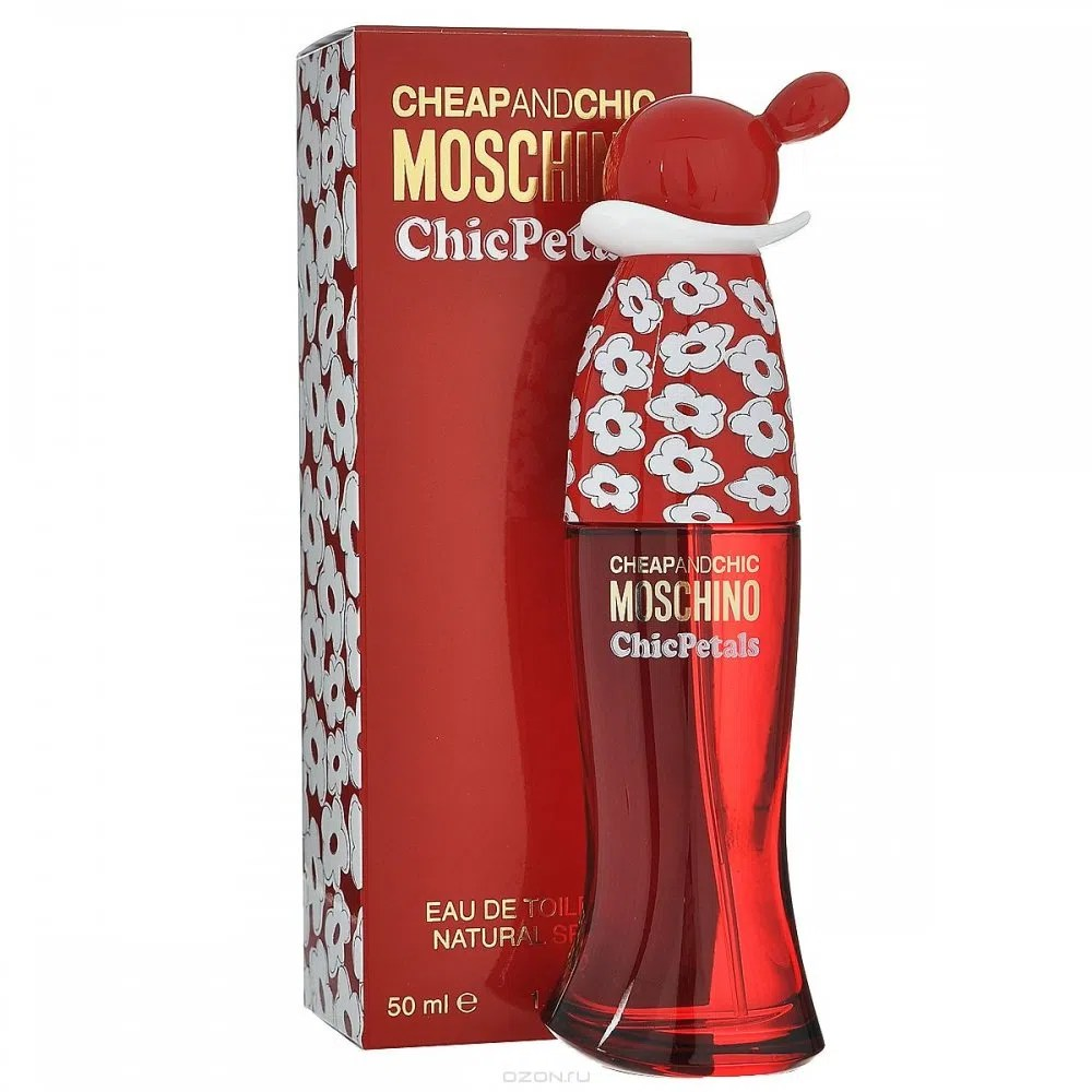 Perfume Cheap And Chic Chic Petals De Moschino Feminino