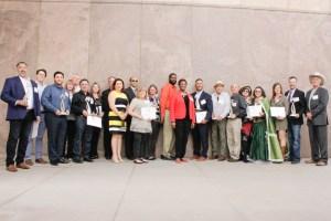 2018 Success Award Winners with Janice Washington, AZSBDC State Director