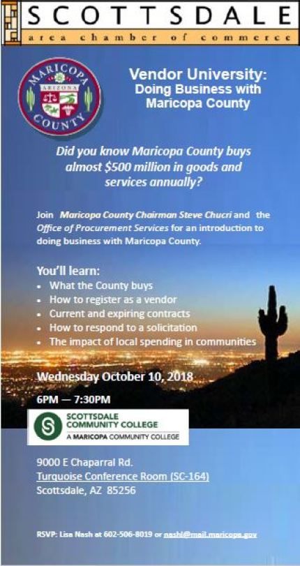 Doing Business with Maricopa County
