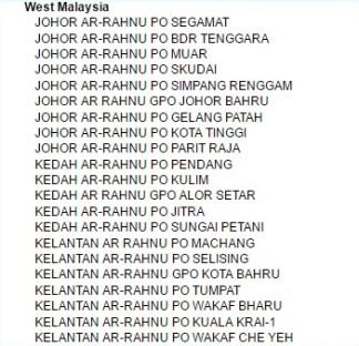 senarai cawangan POS ArRahnu_001