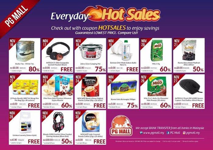 everyday hot sales di PGMall