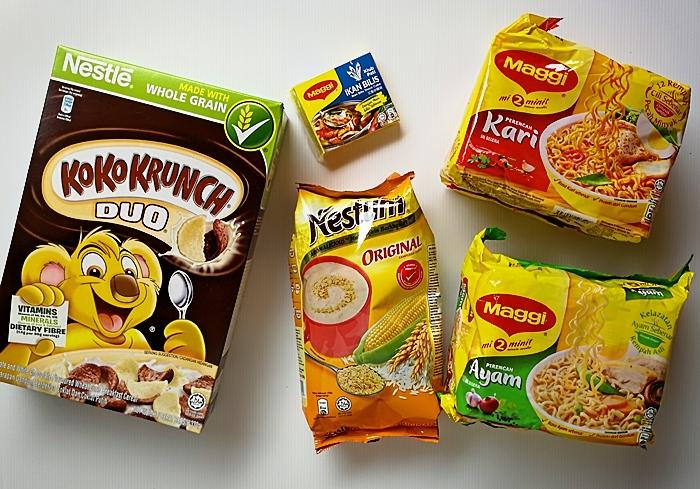 rangkaian produk Nestle