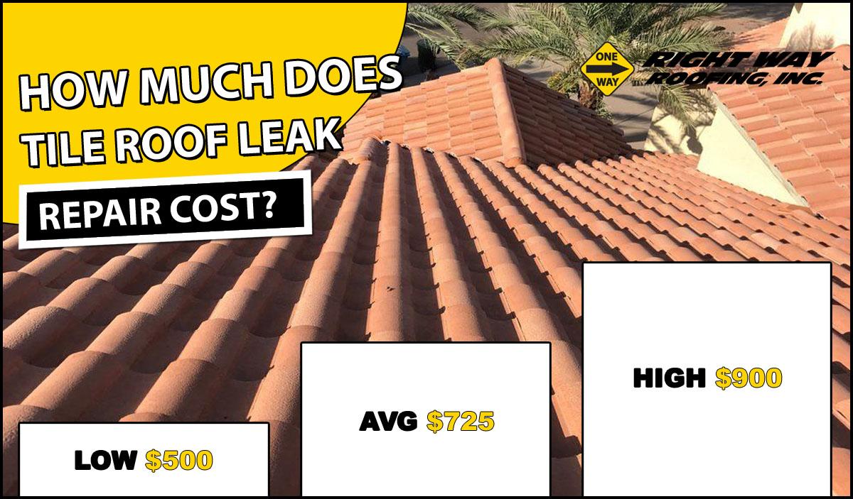 tile roof repair cost 2020 average