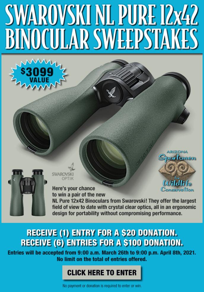 Swarovski NL Pur Binocular Sweepstakes