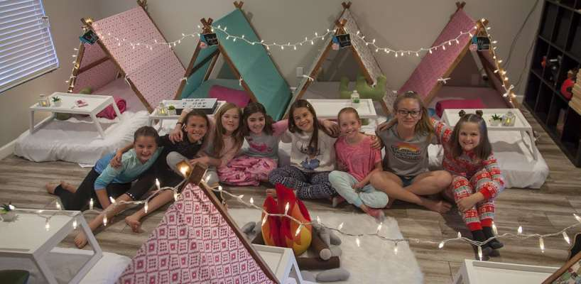 AZ Sleepy Teepee The Ultimate Sleepover Phoenix Kids Birthday Parties and Entertainment Scottsdale (102)