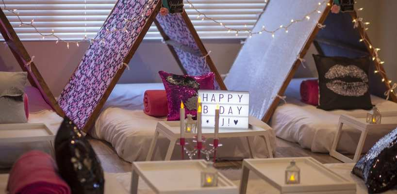 AZ Sleepy Teepee The Ultimate Sleepover Phoenix Kids Birthday Parties and Entertainment Scottsdale (3)