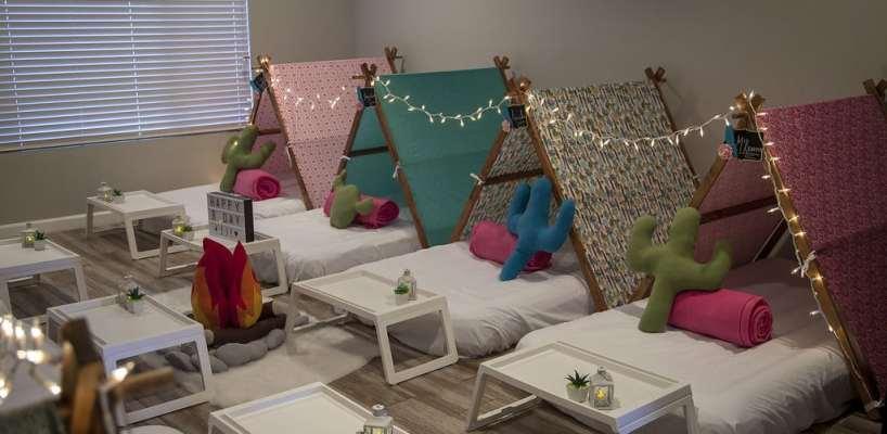 AZ Sleepy Teepee The Ultimate Sleepover Phoenix Kids Birthday Parties and Entertainment Scottsdale (63)