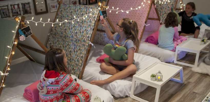 AZ Sleepy Teepee The Ultimate Sleepover Phoenix Kids Birthday Parties and Entertainment Scottsdale (86)