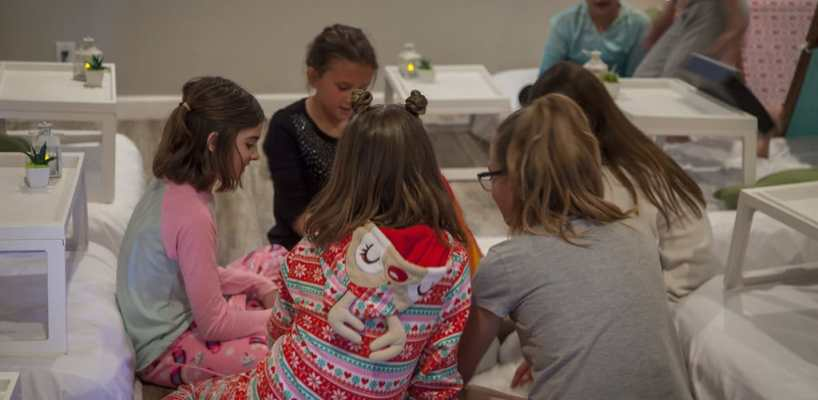 AZ Sleepy Teepee The Ultimate Sleepover Phoenix Kids Birthday Parties and Entertainment Scottsdale (92)