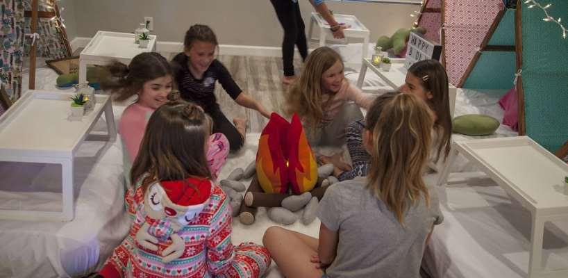 AZ Sleepy Teepee The Ultimate Sleepover Phoenix Kids Birthday Parties and Entertainment Scottsdale (95)