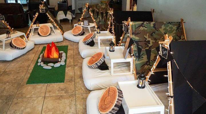 Teepee Party, Glamping sleepovers party, scottsdale party ideas (5)