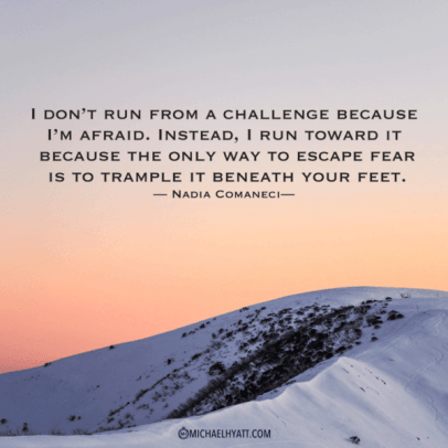 Never run from a challenge! Including learning social media!