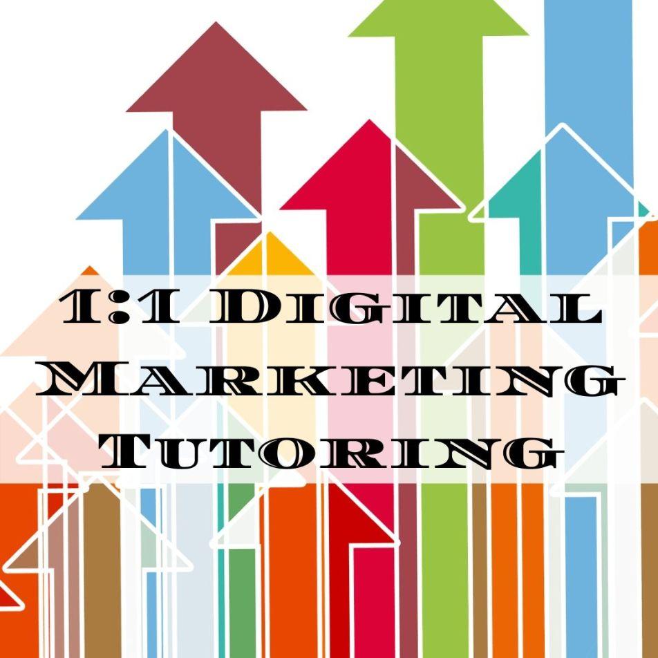 Digital Marketing, Content Marketing, Social Media Tutor