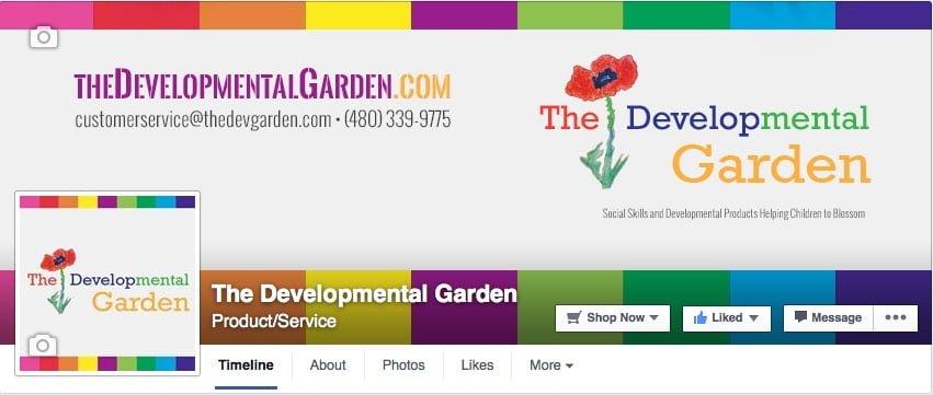 The Developmental Garden Facebook Page