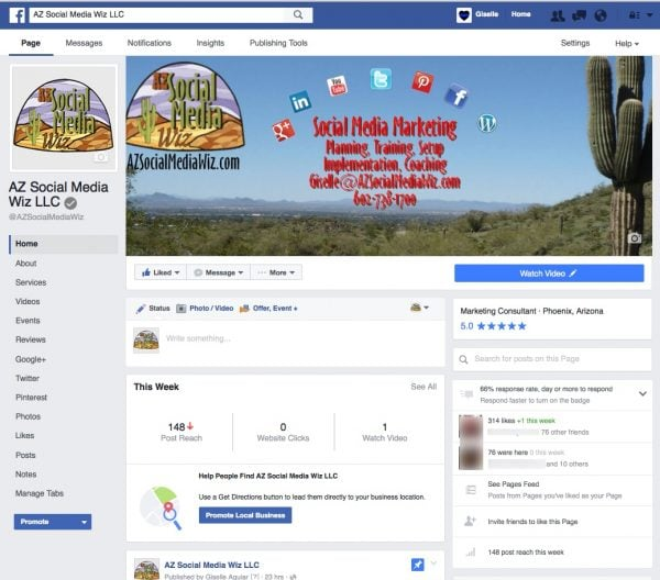 New Facebook Business Page Layout