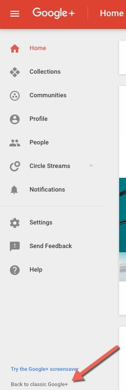 The old, classic Google Plus is going away.