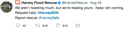 How Social Media Helped Save Lives During Hurricane Harvey