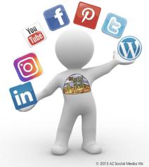Juggling social media marketing