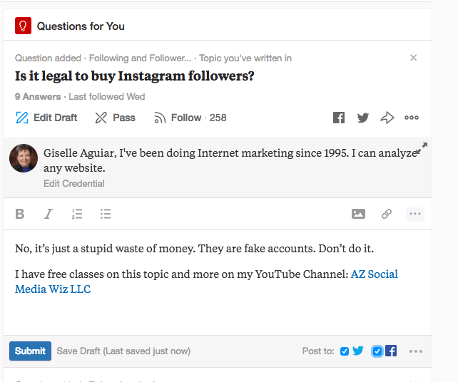 Answer questions on Quora and give them a CTA.
