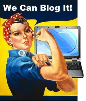 You can blog it!