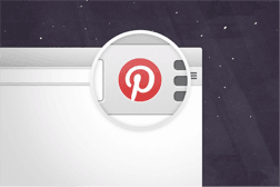 adding the pin-it button to your browser makes it easy to pin from your site.