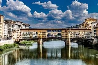 Ponte Veccio (Old Bridge) Florence, Italy
