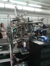 At the synchrotron Soleil in Paris.
