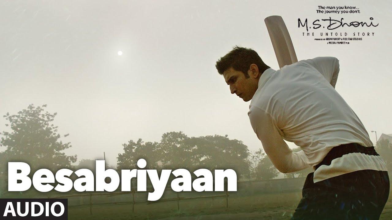 Besabriyaan Lyrics in Hindi and English - Armaan Malik, M.S. Dhoni: The Untold Story (2016)