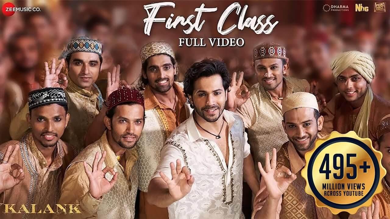फर्स्ट क्लास First Class Lyrics in Hindi and English - Kalank (2019), Arijit Singh