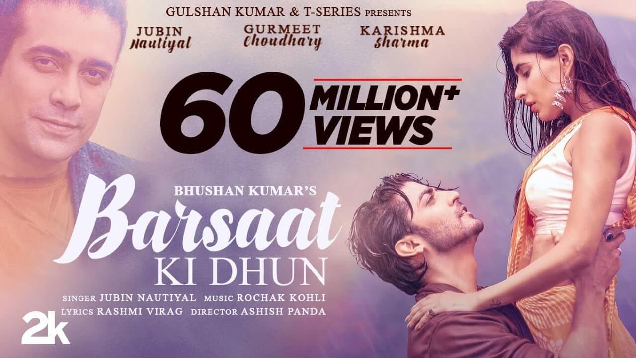 बरसात की धुन Barsaat Ki Dhun Lyrics in Hindi and English - Jubin Nautiyal, Rochak Kohli, Hindi Song 2021