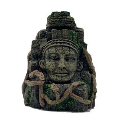 Aztec style rock face