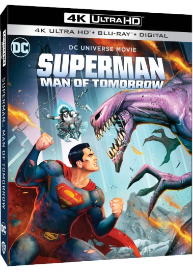 Superman Man of Tomorrow 4K