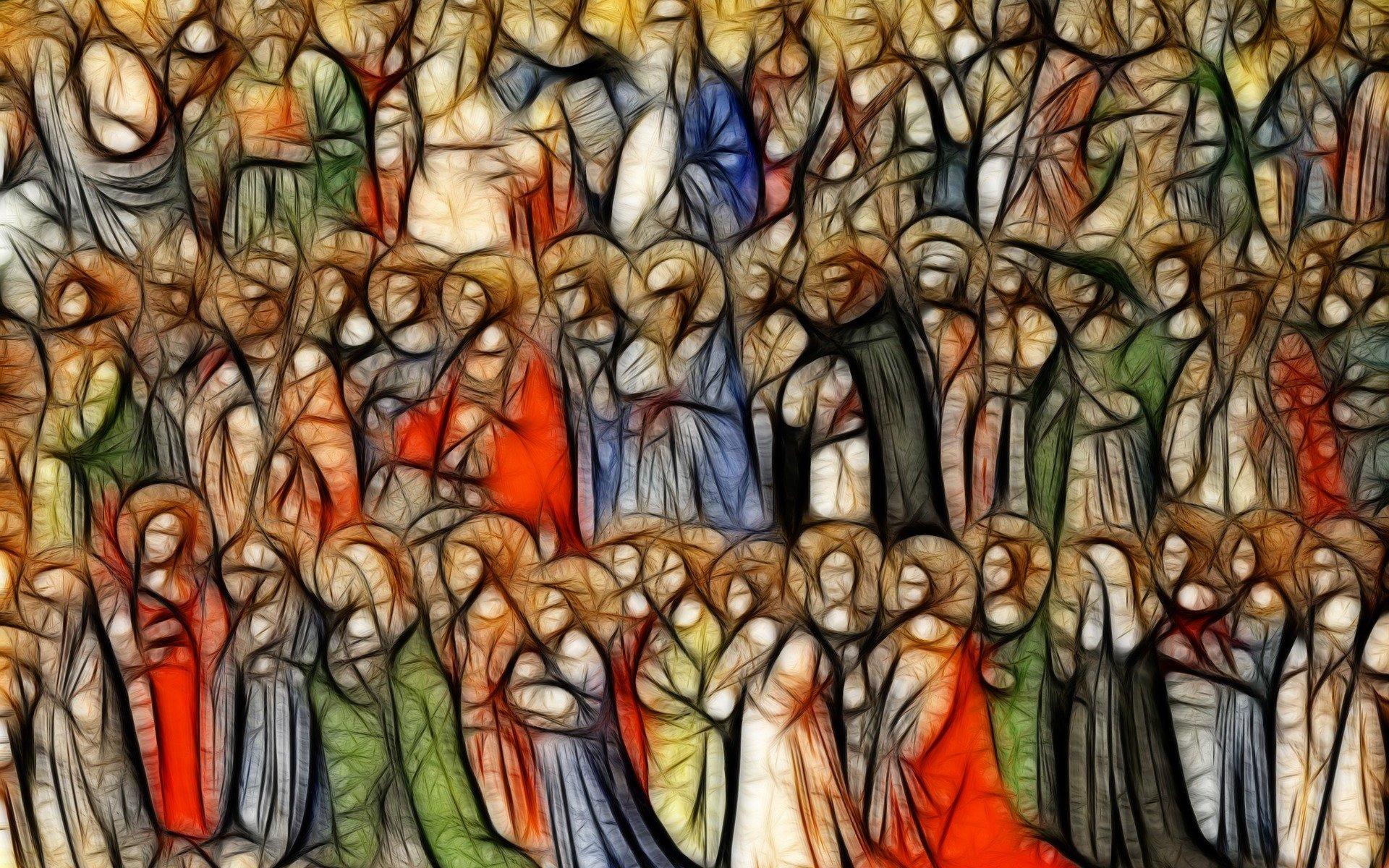 All Saints by Gerd Altmann