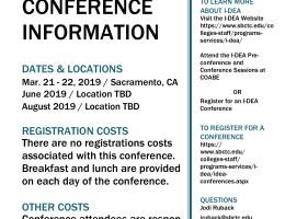 I-DEA Conference Poster