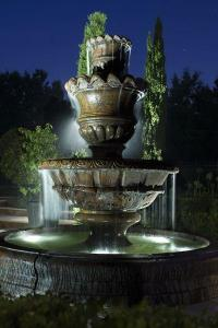 A large fountain goes well on any main entrance, Poughkeepsie NY