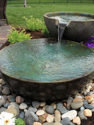 Large bowls fountain are perfect for any landscape, Highland NY