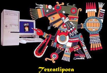 TEZCATLIPOCA - Espejo Humeante - Dýmající Zrcadlo