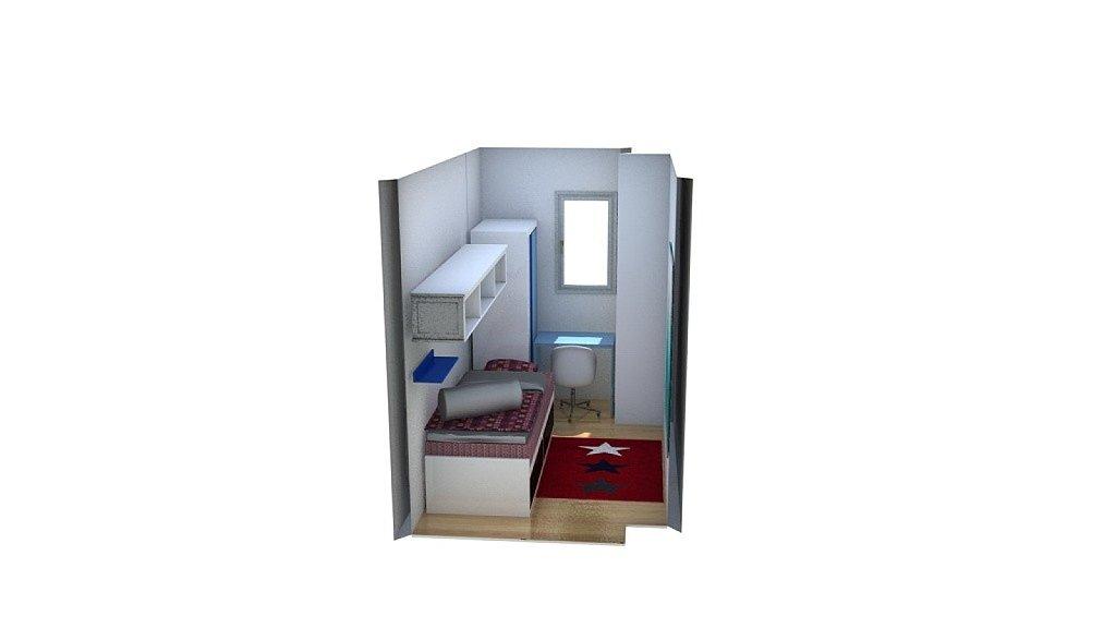 Habitacion Muy Pequena 5 Metros Cuadrados Decorar Tu