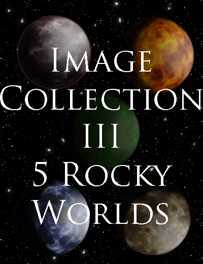Image Collection III - 5 Rocky Worlds