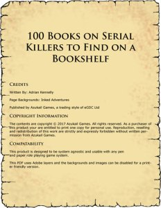 100 Books on Serial Killers to Find on a Bookshelf