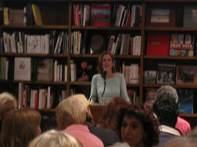 Mary Roach at Books & Books (1/3)
