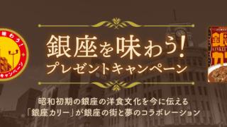 2019/11/29明治 銀座カリー 銀座を味わう!プレゼントキャンペーン 買って応募