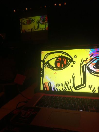 Live Drawing Performance from i YAAM II Berlin
