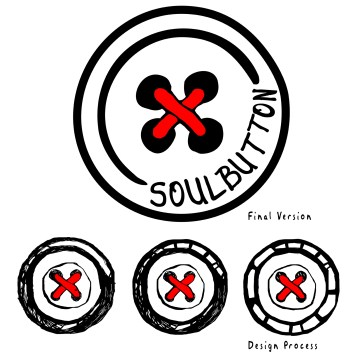 Logo Design & Design Process for Soul Button (Dj/Producer)