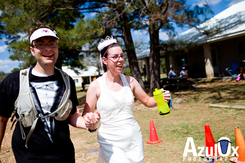 Jeff and Cheri's day before the Wedding – Race to the Altar Marathon – Warda, Texas