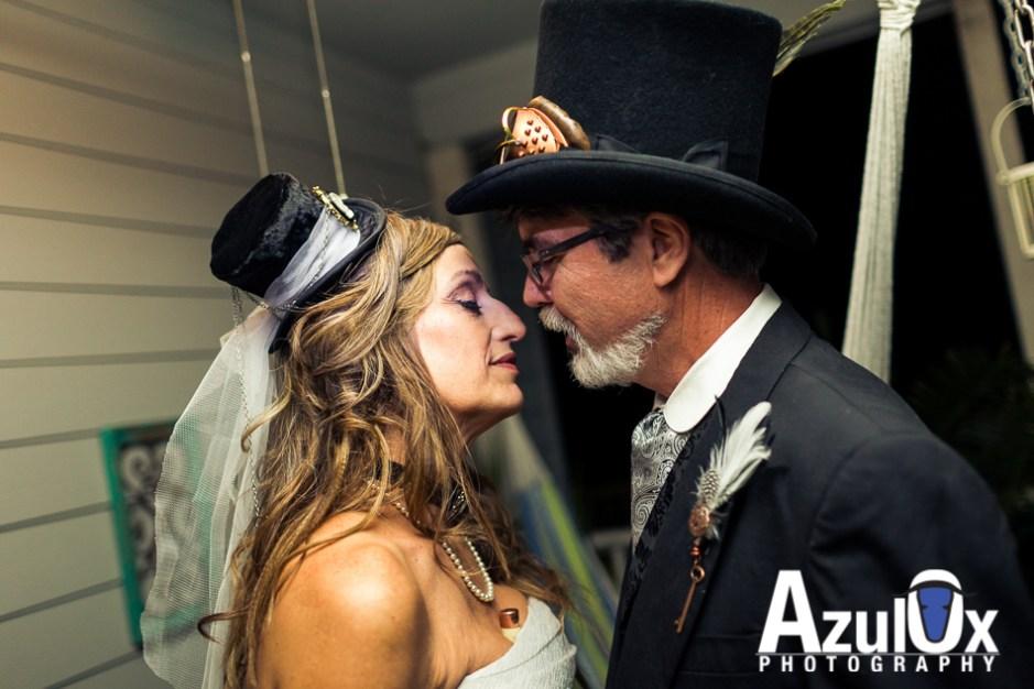 Patty & Kyle: Steampunk Wedding in Bastrop