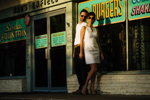 Veronica & Graham: Austin Clarksville Engagement Portraits - Austin Wedding Photographers