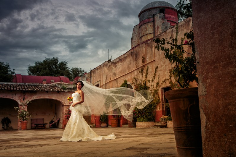 Haide: Bridal Portraits from Hacienda Las Trancas, Mexico - Exotic Location Bridal Portraits - Austin Wedding Photographers -