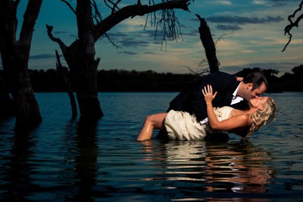 Kim & Jonathan: Reveille Peak Ranch Engagements in Burnet - Epic Engagement photos - Austin Wedding Photographers - Water Engagements