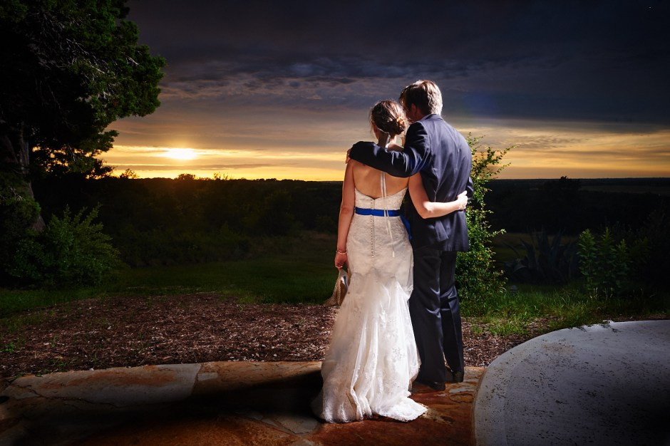 Kevin and Rachael: TerrAdorna Sunset Wedding in Manor